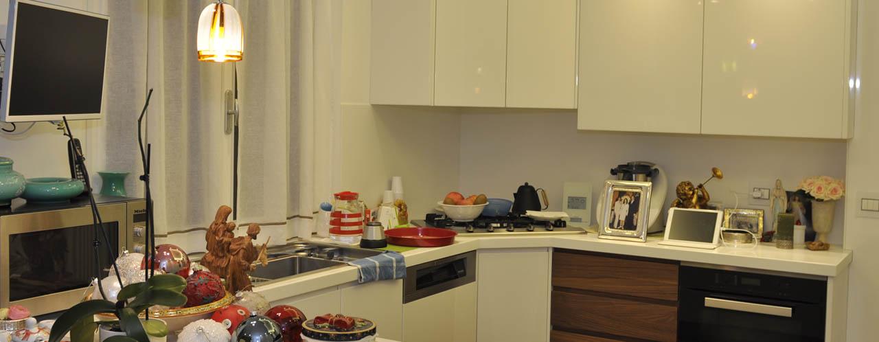 Cucina ad Angolo Bianca